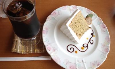 紅茶シフォン&アイスコーヒー